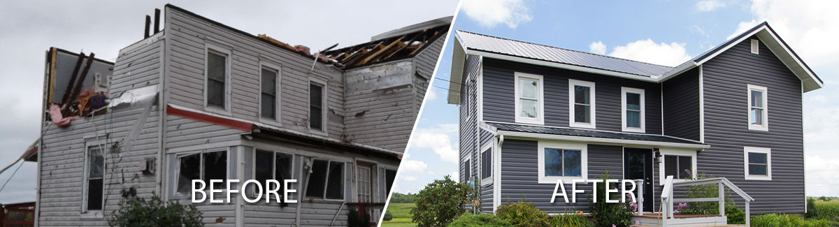 Tornado damage restoration in northeastern Ohio