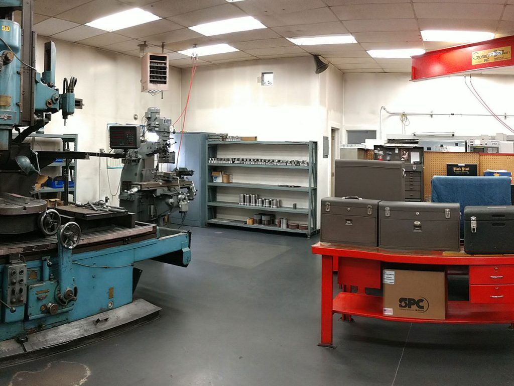 Industrial plant work area cleaned by Zehr Restorations